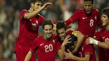 Portugal recorded a seventh Group 8 win