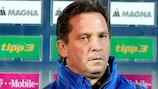 Trainer Werner Gregoritsch darf mit seinem Team weiter träumen