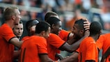 The Netherlands made the play-offs despite being pipped by Slovakia in their group