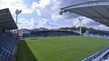 Městský fotbalový stadion Miroslava Valenty, home of 1. FC Slovácko