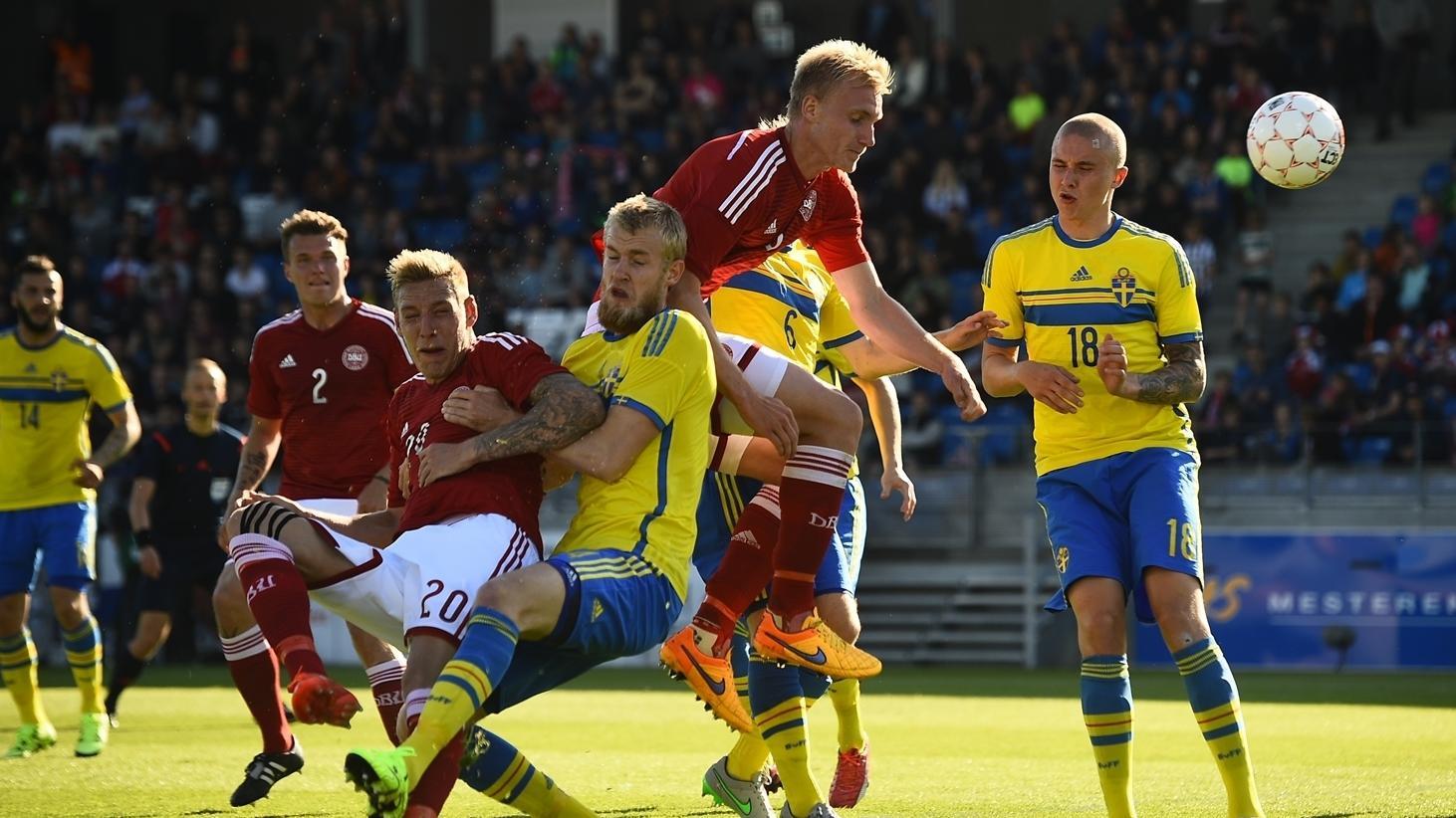 ЕВРО среди молодежи - Дания-Швеция - История и факты: Дания ...
