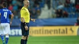 Polish match official Szymon Marciniak will referee the final
