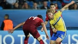 Portugal and Sweden drew 1-1 on matchday three