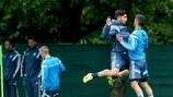 Deutschland beim Training