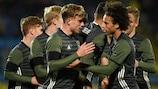 L'Allemagne fête son premier but contre la Russie