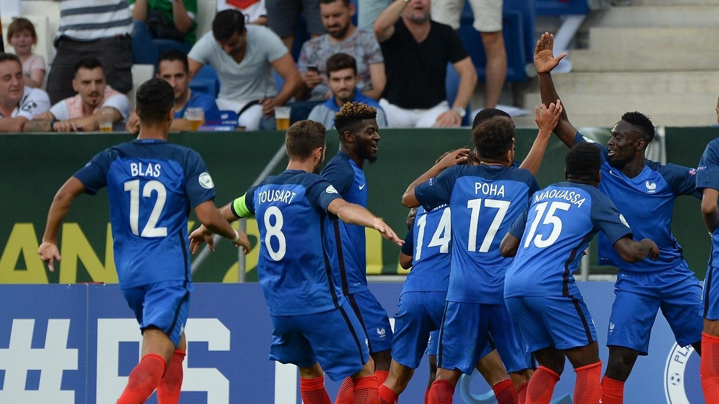 Греция испания до 19 лет футбол финал