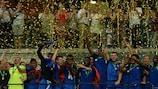 Les U19 français ont soulevé leur troisième trophée européen à Sinsheim