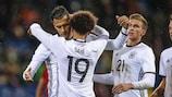 Alemania es la única selección que ganó todos sus partidos