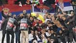 Serbia take finals place despite Norway loss