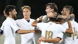 A cinco vezes campeã Itália apurou-se para a fase final do próximo Verão