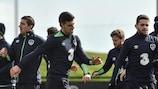 A Irlanda treina a preparar o jogo de abertura frente ao Kosovo