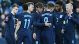 England gewann im März gegen Dänemark