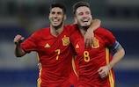 Die Spanier Marco Asensio und Saúl Ñíguez