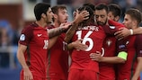 Portugal open with victory against Serbia