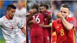 Spanien, Portugal, Serbien und Mazedonien müssen am Dienstag zum zweiten Mal ran