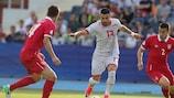 Serbia strike late to deny FYR Macedonia historic win