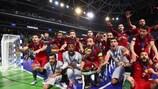 Portugal logra el título, Ricardinho es máximo goleador