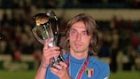 Andrea Pirlo won the 2000 UEFA European Under-21 Championship with Italy