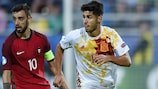 Spain's Marco Asensio is leading the race for the adidas Golden Boot