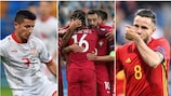 Freitag: Serbien - Spanien, EJR Mazedonien - Portugal