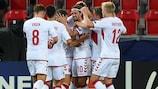 Denmark triumph to deny Czech Republic semi spot