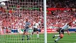 Schnappschuss: Deutschlands Sieg gegen England bei der EURO '96