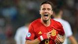 Triplé pour Saúl Ñíguez, l'Espagne en finale