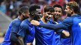 A França tem cinco vitórias em cinco jogos