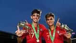 Portugal pair share U19 EURO top scorers' prize