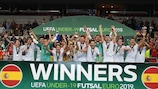 Futsal U19 : le premier trophée pour l'Espagne