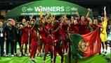Portugal's unique feat in Finland