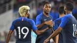 A França está entre as apuradas para a fase final do próximo Verão
