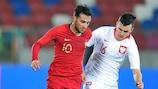 Portugal perdeu em casa diante da Polónia e falhou o apuramento para a fase final do EURO de Sub-21