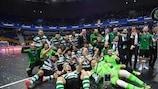 Sporting win first Futsal Champions League