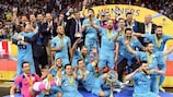 Inter's fifth title came in 2018