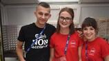 Des volontaires à l'EURO 2017 en Pologne
