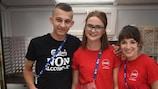 I volontari nel 2017 in Polonia