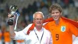 Klaas-Jan Huntelaar ha vinto il titolo con l'Olanda nel 2006