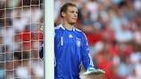 Manuel Neuer im Endspiel 2009