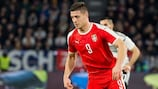 Luka Jović machte in der Qualifikation sieben Tore für Serbien