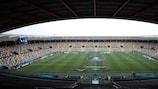 O Stadio Friuli, em Udine, recebe a final entre Espanha e Alemanha
