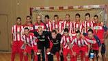 Stella Rossa Vienna war in dieser Saison der österreichische Vertreter im UEFA Futsal Cup