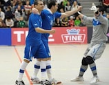 Italy defend a 5-0 lead at home to Norway on Wednesday