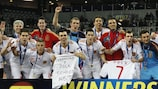 Spain made it four straight titles in Croatia earlier this year