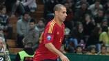 Fernandão apontou um dos golos da Espanha frente à Rússia