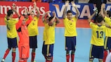 Colombia finished fourth at the 2012 finals