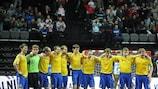 Сборная Украины готовится к стыковым матчам в Харькове