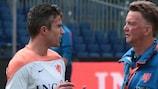 Louis van Gaal nimmt Robin van Persie mit nach Brasilien