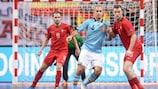 O futsal é um jogo de acção ininterrupta em crescimento por toda a Europa