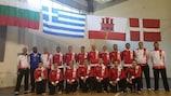 The Gibraltar team for UEFA Futsal EURO 2016 preliminary round Group A